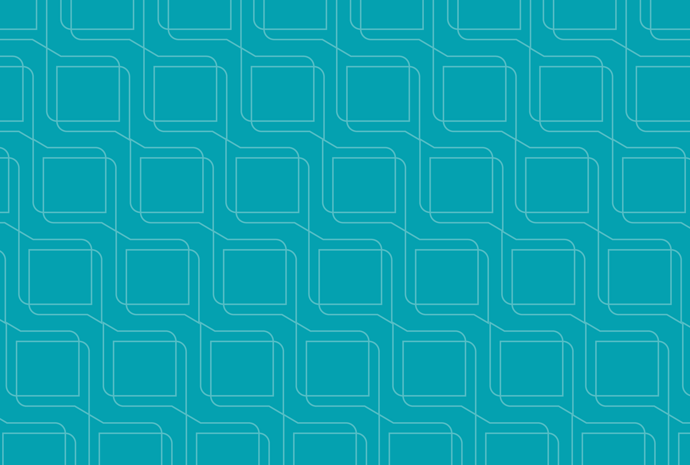 a decorative teal background with a light speech bubble pattern overlaid on it