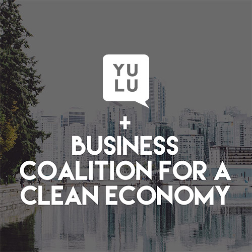 Yulu PR Business Coalition for a Clean Economy