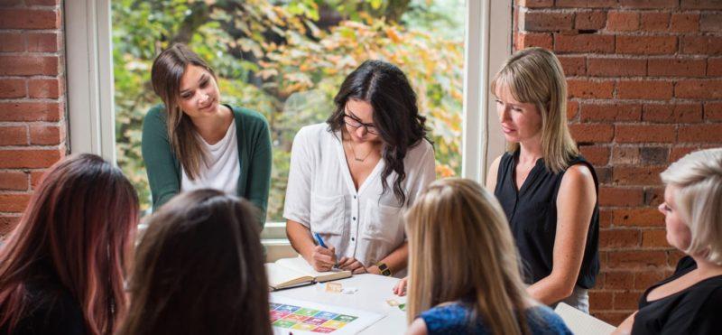 Meeting of women